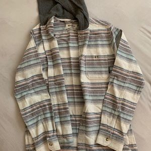 Billabong hooded flannel
